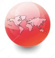 World Map Icon by Icon Button Pictogram World Map U2014 Stock Photo Mindscanner