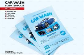 car wash flyer templates free u0026 premium psd templates creative