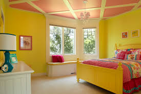 yellow bedroom client home gull lake mi traditional kids grand rapids