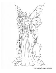 coloring pages fantasy mermaids fairies elves