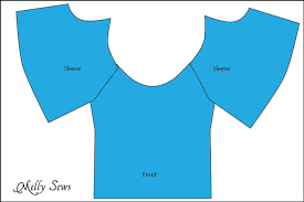 sew a peasant top pattern for melly sews