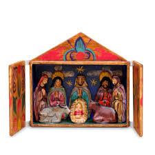 wood peruvian sculpture at novica