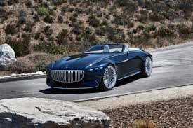 jeep mercedes rose gold vision mercedes maybach 6 cabriolet breaks cover at pebble beach evo