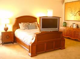 Bed Frame With Tv In Footboard Matukewicz Furniture Tv Lift Cabinets Tv Lifts Tv Lift