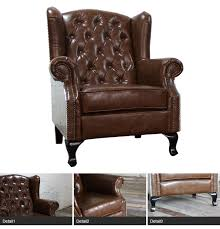 high back leather sofa aluminium back leather high back sofa wing chair single sofa