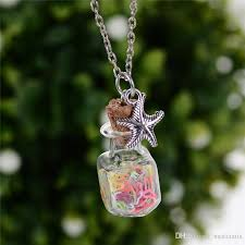 glass bottle necklace images Wholesale wishing bottle necklace drift bottle pendant mini cork jpg