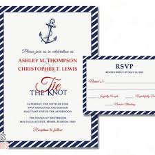 wedding invitations the knot shop nautical wedding invitations on wanelo