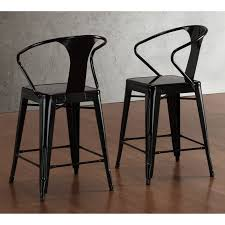 24 Bar Stool With Back 24 Metal Bar Stools Inch Swivel With Back Decoreven