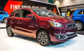 mitsubishi hatchback 2017 mitsubishi mirage photos and info u2013 news u2013 car and driver