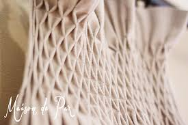 Smocked Burlap Curtains Diy Smocked Curtains Maison De Pax