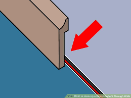 how to hook up a sound system through walls 11 steps