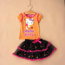 Halloween T Shirts For Girls New Hello Kitty Girls Halloween Short Sleeved T Shirt Top