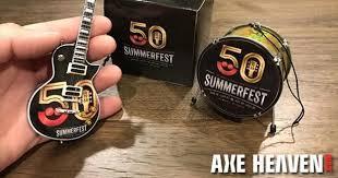 6 promotional guitar ornaments by axe heaven axe heaven