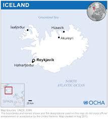 Iceland Map Location Iceland Location Map 2013 Iceland Reliefweb