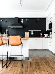 black walls white kitchen cabinets 34 timelessly black and white kitchens digsdigs