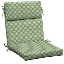 Chair Cushions Patio by Pleasant Outdoor Cushions High Back Chair Model Patio With Outdoor