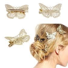 butterfly for hair lnrrabc metal alloy 4 8 3 6cm butterfly hair headwear