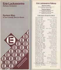 Map Of Mansfield Ohio by Map Erie Lackawanna Railway Company Freight System Map Of The