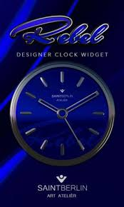 analog clock widgets for android blue rebel hd analog clock widget 3 00 apk for android