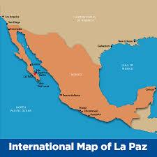 La Paz Mexico Map by Camaron Beach La Paz Property For Sale