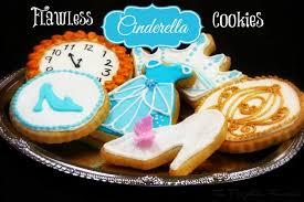 cinderella cookies recipe decorate