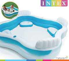 Intex Inflatable Pool Intex Swim Center Family Lounge Inflatable Pool Toy At