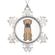 bullmastiff ornaments keepsake ornaments zazzle