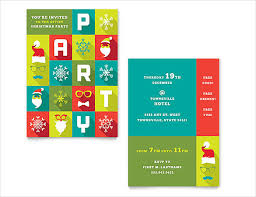 100 christmas invitation template word free party