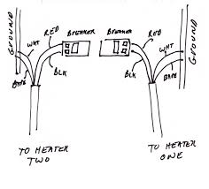 baseboard heater wiring question yesterday u0027s tractors