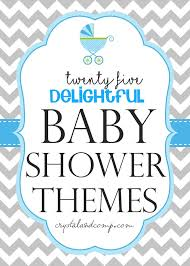 theme for baby shower baby shower themes