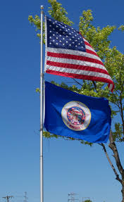 American State Flags Flag Of Minnesota Wikipedia
