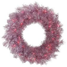 tinsel wreath contemporary wreaths and garlands by vickerman