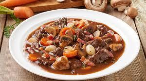 cuisiner le boeuf bourguignon boeuf bourguignon recette facile et rapide knorr