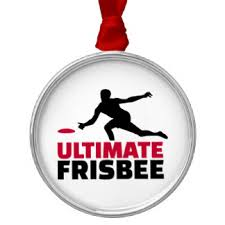 ultimate frisbee ornaments keepsake ornaments zazzle