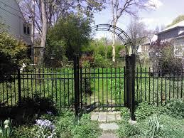 Metal Arbors Ornamental Aluminum U0026 Iron Fences Cardinal Fence U0026 Supply Inc