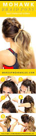 235 best cute gym hairstyles images on pinterest braids make up