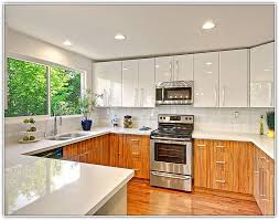 painting flat panel kitchen cabinets home design ideas