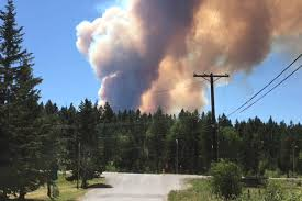 Bc Wildfire Highway Closures by Bc Wildfire Archives Williams Lake Tribune