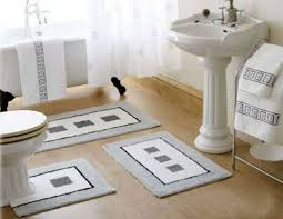 bath mats set bathroom with pedestal sink and bath mat set for bathroom safety
