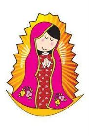 imagenes de virgen maria infantiles virgencitas con alegres colores y diseños infantiles estos dibujos