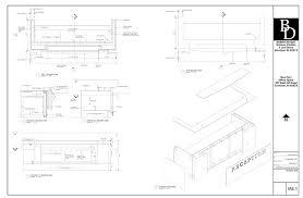 diy reception desk construction drawings pdf download free diy plans reception desk construction drawings pdf download projects