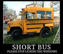 Short Bus Meme - bus puns