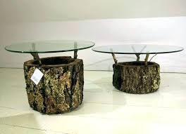 tree branch coffee table stump end table tree branch coffee table wood stump end table wood