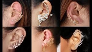 unpierced ears fashionable ear wraps collection cuff earrings designs for