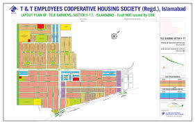 Islamabad Map T U0026t Echs Sitemap Layout Plan Sector F 17 2017