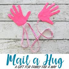 mail a hug the diy gift to send to family far away