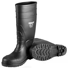 womens steel toe boots size 11 tingley rubber black 15 in the sock knee boot size 9 31251 09