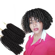 toyokalon hair for braiding ny pre loop crochet braids 3pcs pack hair braid curly bouncy curl