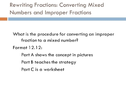fractions ppt video online download