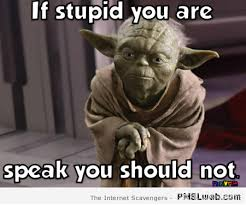 Funny Yoda Memes - 13 if stupid you are yoda meme pmslweb